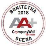 Boniteta A++ 2018