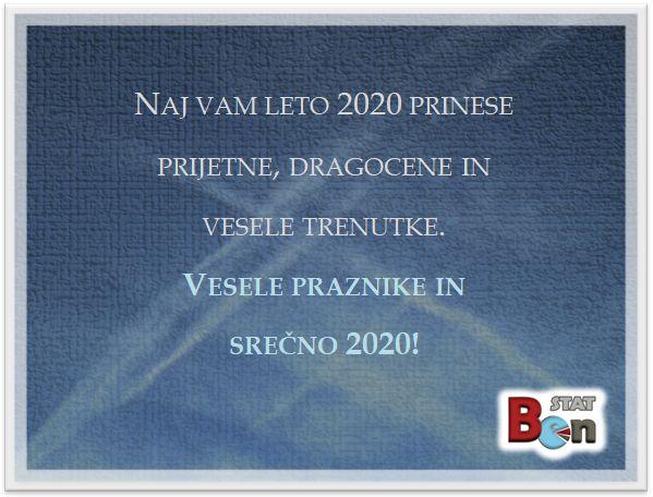 Srečno 2020!